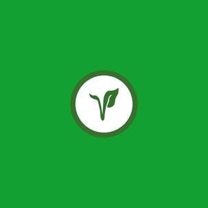okrągłe logo ProDiet z zielonym cieniem