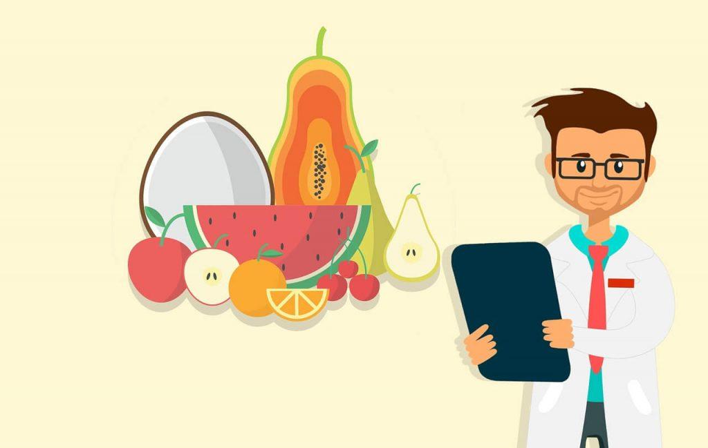 dietetyk, dieta, warzywa i owoce